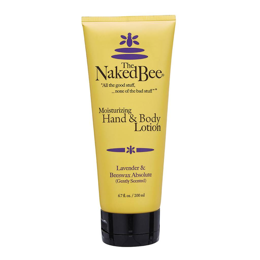 The Naked Bee Lavender & Beeswax Hand & Body Lotion 6.7 oz