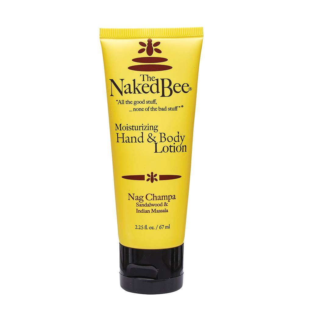The Naked Bee Nag Champa Hand & Body Lotion 2.25 oz