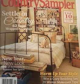 Country Sampler Magazine Country Sampler January 2018