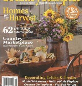 Country Sampler Magazine Country Sampler September 2017