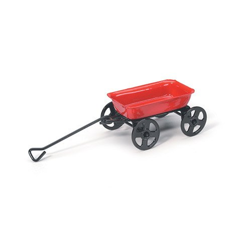 TIMELESS MINIS WAGON METAL RED 1.625IN 1PC