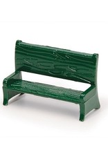 TIMELESS MINIS PARK BENCH GREEN .625X1IN