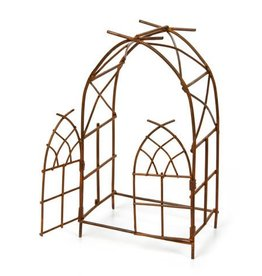 MINI RUSTIC WIRE ARCH WITH DOOR