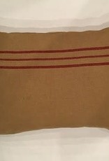Pine Creek Traditions Red Striped Pillow Case 20' x 29""