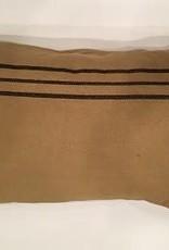 """Pine Creek Traditions Black Stripe Pillow Case 20"""" x 29"""""""