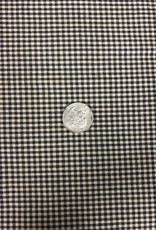 Homespun Fabric, Black Tiny Check