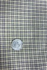 Homespun Fabric, Small Navy Plaid