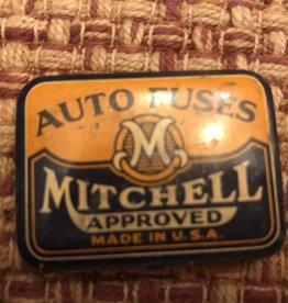Mitchell Auto Fuse Tin, Vintage