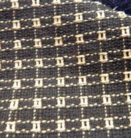 "Mountain Weavers Woven Runner, Black & Stone 18"" x 36""  100% Cotton"