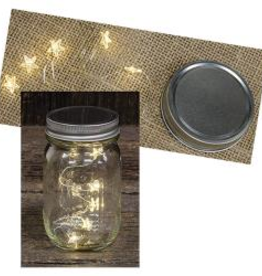 Star Mason Jar Lights