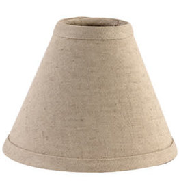 "The Country House Collection 6"" Plain 'N' Simple Lamp Shade, 6"" diameter at base 4.75"" high"