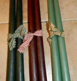 The Old Candle Barn, Inc. Hanging Tapers Dark Green/Bayberry 14""