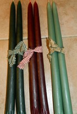 The Old Candle Barn, Inc. Hanging Tapers Sage 14""