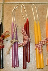 "The Old Candle Barn, Inc. Hanging Tapers Honey 4"" Slim"