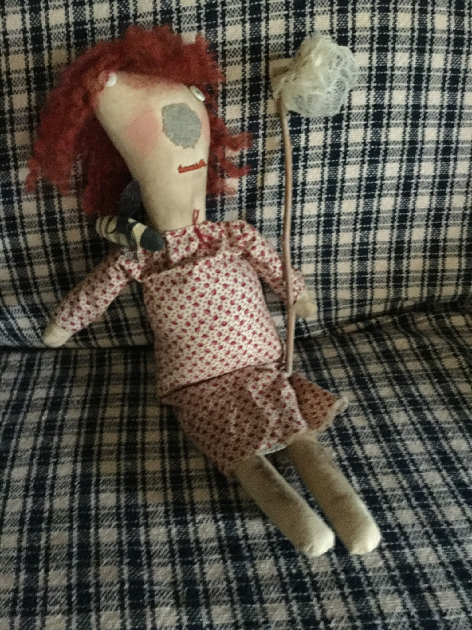 "Homemade Bea Charmer, 17"" Tall"