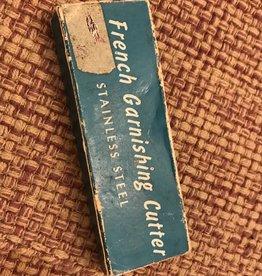 Vintage French Garnishing Cutter