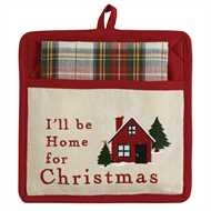 Park Designs I'll Be Home Pocket Potholder Set