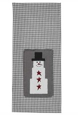 Park Designs Holiday Snowman Dishtowel