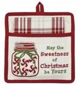 Park Designs Sweetness of Christmas Pocket Potholder Set