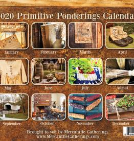 2020 Primitive Ponderings Caldendar