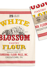 CTW Home Collection White Blossom Flour Tea Towel