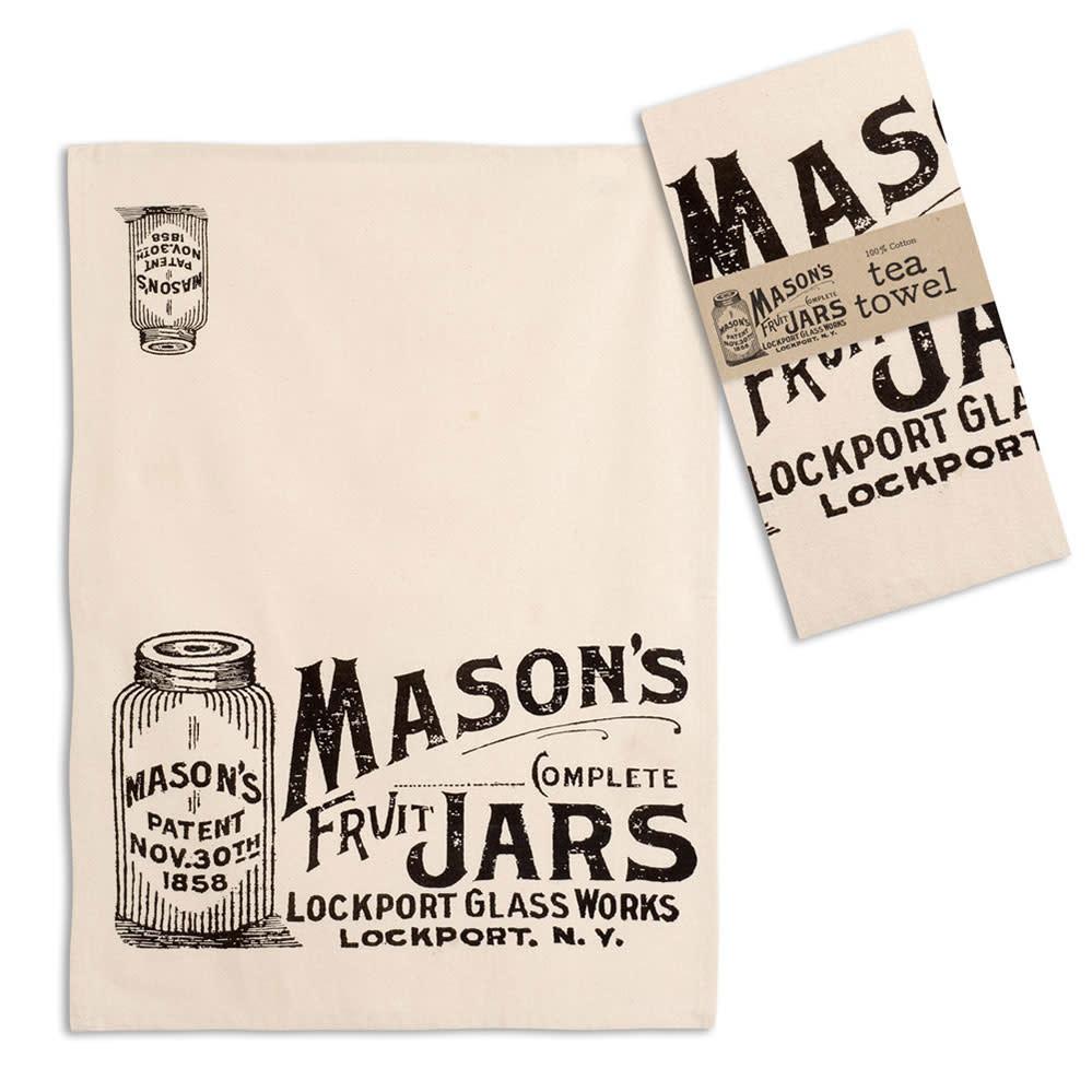 CTW Home Collection Mason Jars Tea Towel