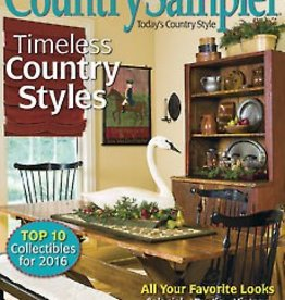 Annie's Wholesale - Country Sampler Country Sampler, January 2016