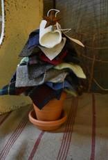 Homemade Wool Tree