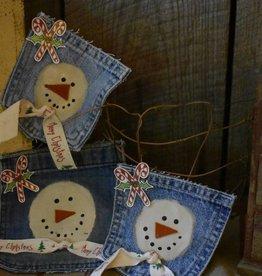 Homemade Ornament, Snow