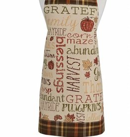Park Designs Harvest Sentiments Apron