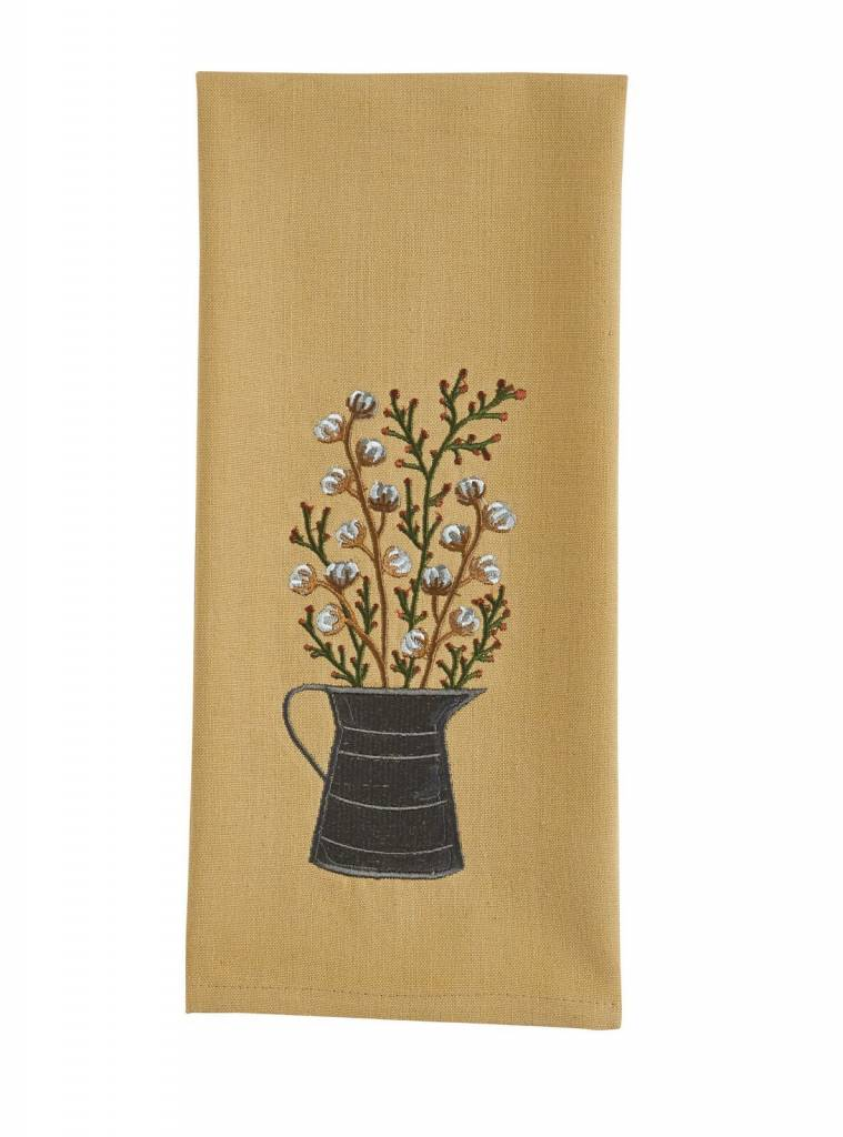Park Designs Cotton Blossoms Dishtowel