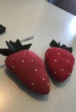 Homemade Wool Strawberry