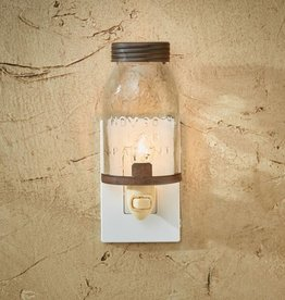 Park Designs Mason Jar Night Light