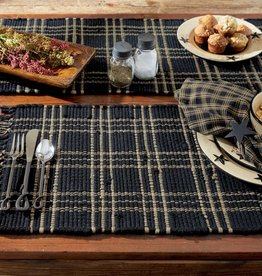 Park Designs Sturbridge Black Chindi Placemat