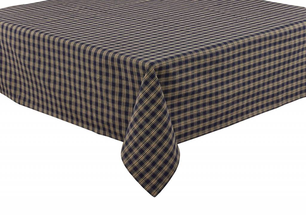 "Park Designs Sturbridge Tablecloth Black 54"""