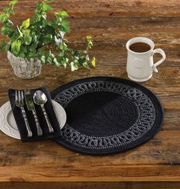 Park Designs Placemat, Circle Loop Braid