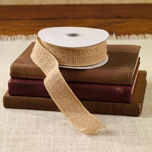 """The Country House Collection Wired Burlap Ribbon 1.5"""" x 10 yards"""