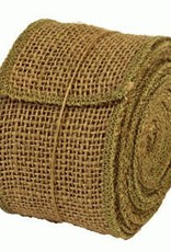 """The Country House Collection Burlap Ribbon, Sage 2"""" x 10"""