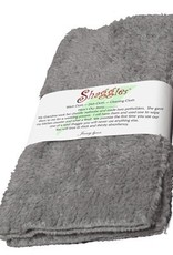 "Janey Lynn's Design, Inc. Goosie Grey Shaggies, set of 2   10""x10"""