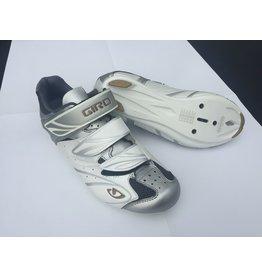 Giro Giro Sante Road Shoe Womens White/Silver/Gold 38