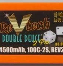 Trincorp. Llc REV2022 LiPo 2S 7.4V 4500mAh 100C Double Deuce