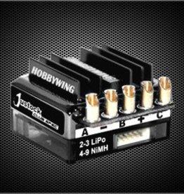 HobbyWing JUSTOCK CLUB SPEC 1/10TH SCALE STOCK ESC BLACK (1/10 CAR)