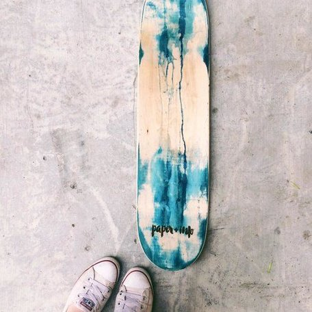WATERCOLOUR DECK BLUE