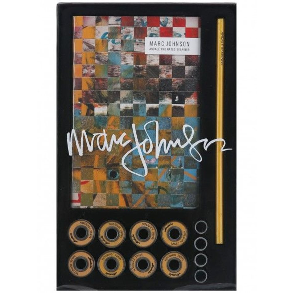 Marc Johnson Andale Skateboard Bearing Special Edition Notebook Set