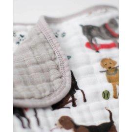 Little Unicorn Woof Cotton Muslin Quilt