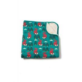 Little Green Radicals Winter Fox Organic Winter Blanket