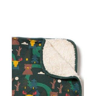 Little Green Radicals Nordic Forest Organic Winter Blanket