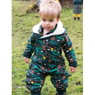 Little Green Radicals Nordic Forest Organic Snowsuit