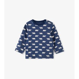 Hatley Polar Bear Silhouettes Long Sleeve Baby T