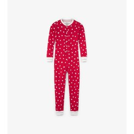 Hatley Metallic Dots Organic Cotton One-Piece